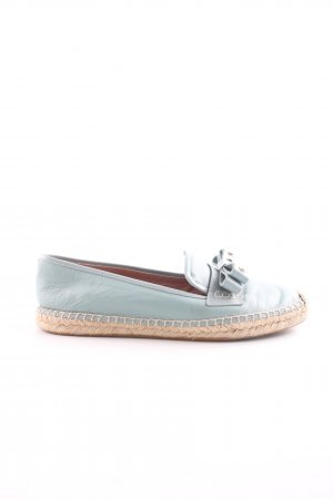 RED Valentino Espadrille Sandals turquoise casual look