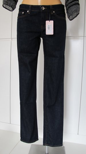 RED Valentino Jeans slim fit blu scuro-argento