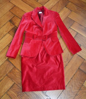 RED Valentino Tailleur rouge coton