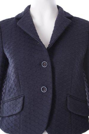 RED Valentino Kurz-Blazer dunkelblau klassischer Stil