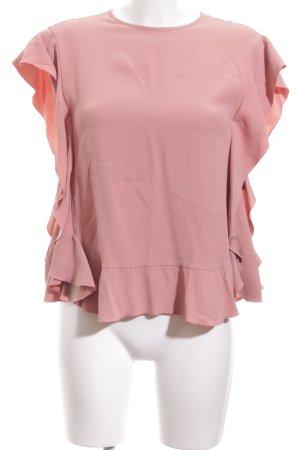 RED Valentino Kurzarm-Bluse pink Elegant