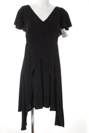 RED Valentino Kurzarmkleid schwarz schlichter Stil