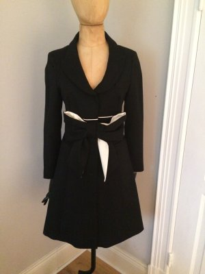 RED Valentino Frock Coat black-white