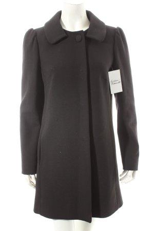 RED Valentino Mantel schwarz Elegant