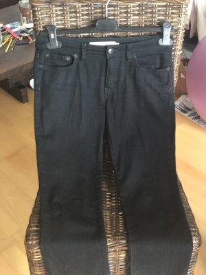 RED Valentino Jeans skinny nero Cotone