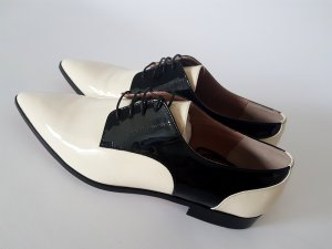 RED Valentino Zapatos estilo Oxford negro-crema