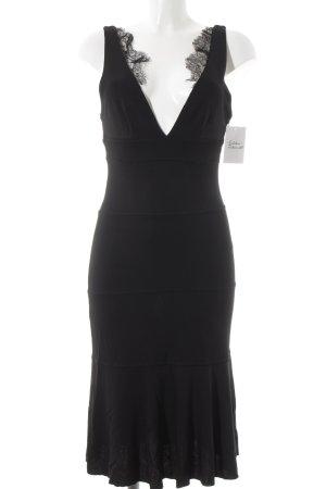 RED Valentino Volantkleid schwarz Elegant