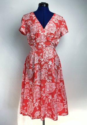 Red & White Summer Dress