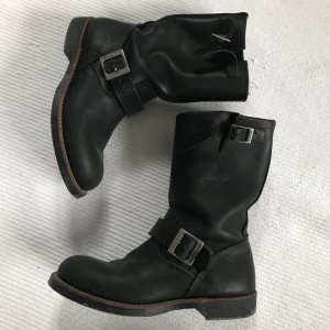 Red Wing Shoes Boots black