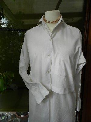 Redford Shirtmakers Bolero Longbluse weiß, Gr.36 - klassisch elegant