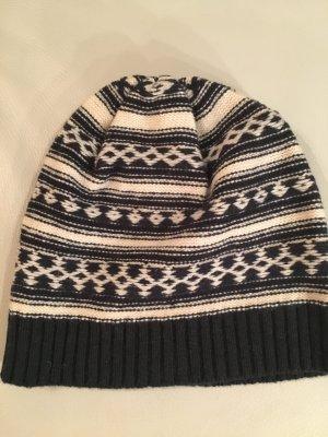 redgreen Chapeau en tricot multicolore laine vierge