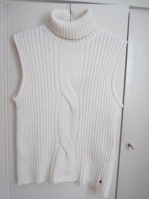 redgreen Cárdigan de punto fino blanco puro lana de esquila