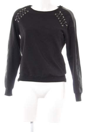 Redial Sweatshirt schwarz Casual-Look