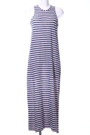 Redsoul Jerseykleid pink-blau Streifenmuster Casual-Look