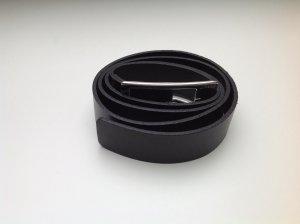 Ledergürtel von Esprit in dunkelbraun 2,5 cm breit
