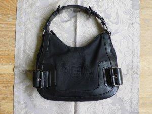 Givenchy Handtasche aus schwarzem Leder und Textil