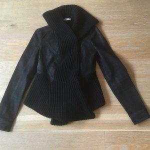 Schwarze Givenchy Jeansjacke Bikerjacke