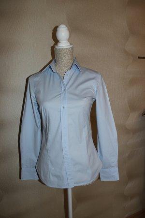 Zara Chemise à manches longues bleu azur