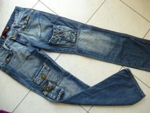 Reduziert%%Neu! DSQUARED2 Jeans-Hose, Gr. (29) 34/36 super schick