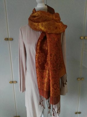 Pashmina bronze-colored-russet