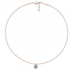 Pierre Lang Collier Necklace rose-gold-coloured-blue