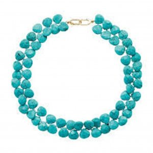 Pierre Lang Collier Necklace gold-colored-turquoise