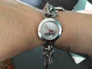Love Moschino Montre avec bracelet métallique multicolore bronze