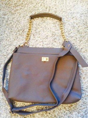 Ipekyol Shoulder Bag grey brown