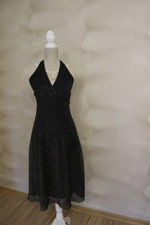 Reduziert! Schwarzes Kleid mit Silber von Yessica
