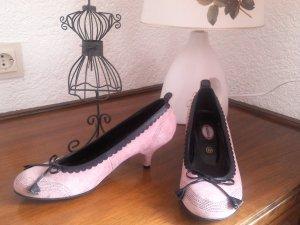 reduziert%wunderschöne Schuhe/Pumps in rosa,schwarz von Graceland in Gr.39