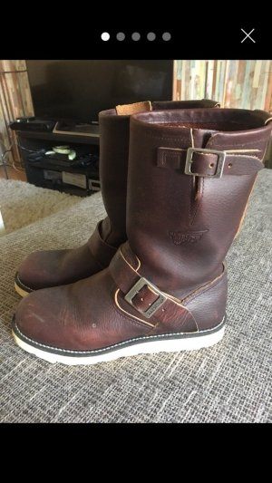 Red Wing Shoes Boots brown leather