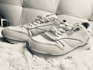 Reebok Lace Shoes white leather