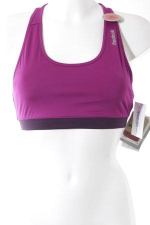 Reebok BH purpur sportlicher Stil