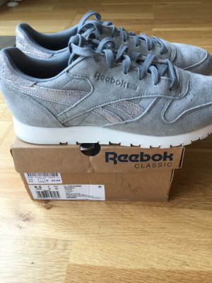 Reebok CL Leather Shimmer, grey