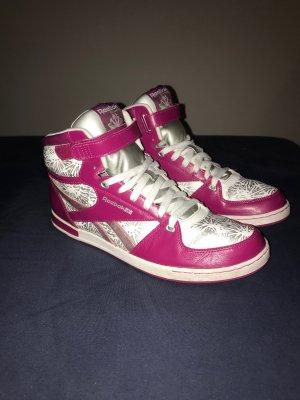 Reebok classic High Sneaker Gr.41 pink silber Schuhe