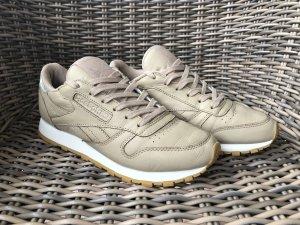 Reebok Classic Leather - Beige/Silver