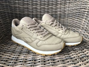 Reebok Classic Leather - Beige/Silver
