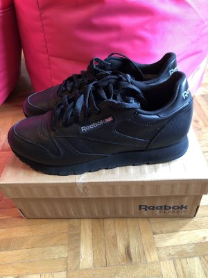 Reebok Classic Leather Sneaker - Schwarz