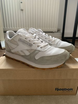 Reebok Classic leather SPP Woman weiß grau Wildleder 37