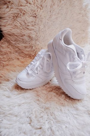 Reebok Classic Leather weiß Sneaker Damen