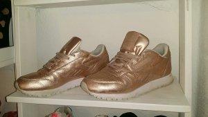 Reebok classic Leder sneaker Schuh rosegold rosé Gold in der Größe 38