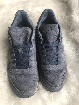 Reebok Classic Sneaker 38.5 Blue Wildleder