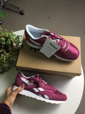 Reebok Classic Sneaker Low - 37.5 twisted berry/white
