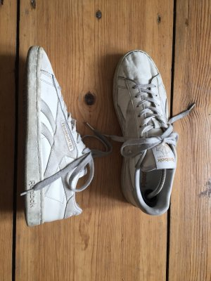 Reebok Lace-Up Sneaker natural white