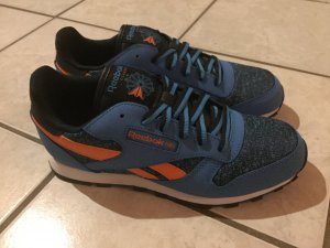 Reebok Classic Sneaker Low Streetstyle blau-orange