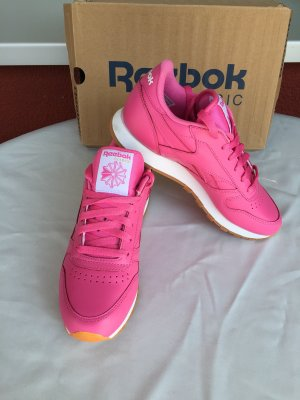 Reebok Classic Sneaker Pink weiß gr 38,5 Neu
