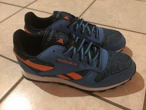 Reebok Classic // Sneaker // Turnschuhe // Schuhe // blau // orange // 36