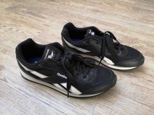 Reebok classic Sneaker Turnschuhe schwarz weiß 38