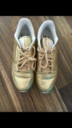 Reebok Classic Spirit Sneaker Gold 40 Blogger Damen neu