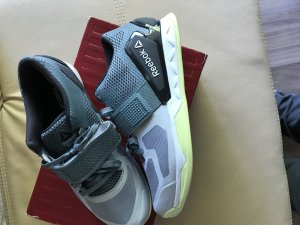 Reebok Crossfit Transition Grey/Lemon !!! Neu !!!  Gr. 40